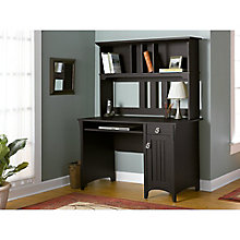 Salinas Mission Style Desk with Hutch, BUS-MY72708-03