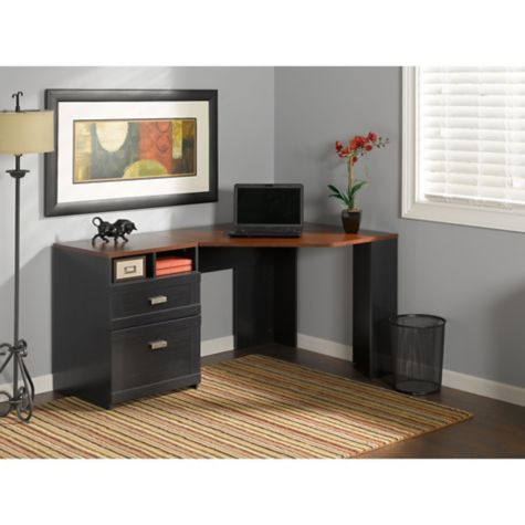Bush Myspace Wheaton Reversible Corner Comp Desk