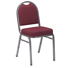Solid Fabric Padded Stack Chair, NAI-9250
