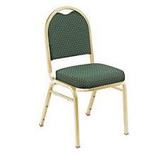 Pattern Fabric Padded Stack Chair, NAI-9260