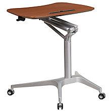 Mobile Mahogany Desk, 8812278
