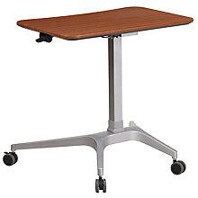 Mobile Mahogany Desk, 8812280