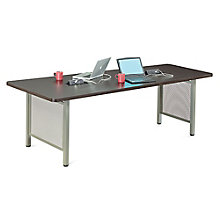 "At Work Angled Media Table - 96""W, 8803426"