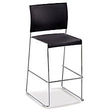 Chrome Frame Café Stool , 8804884