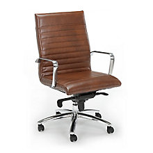 Bonded Leather Conference Chair, 8826040