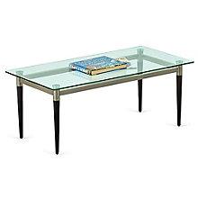 "Glass Top Coffee Table - 40""W x 20""D, 8814235"