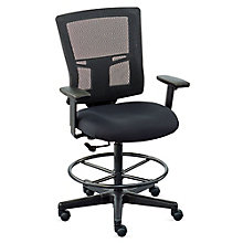 Mesh Back Drafting Stool with Footring , 8803204