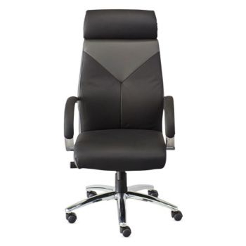 Sensational Highland Two Tone Leather Executive Chair Officefurniture Com Pdpeps Interior Chair Design Pdpepsorg