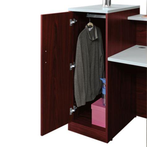 Inside view of wardrobe