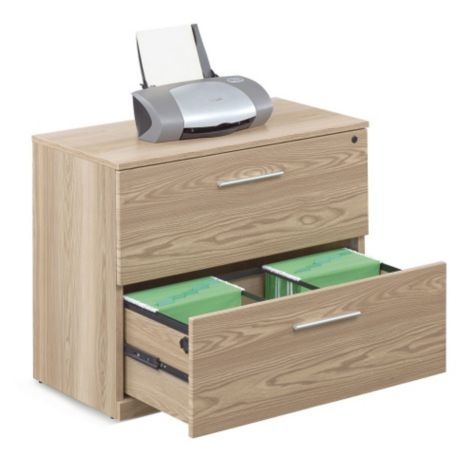 Warm Ash shown with drawer open