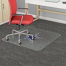 "NFL Standard Use Chairmat 60""W x 46""D, 8823820"