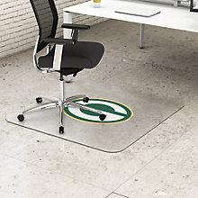 "NFL Hardfloor Chairmat 53""W x 45""D, 8823821"