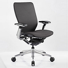 IC2 Mesh Ergonomic Computer Chair with Black Shell, 8814189