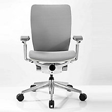 IC2 Mesh Ergonomic Computer Chair with White Shell, 8814190