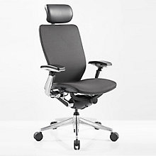 IC2 Mesh Black Shell Ergonomic Computer Chair with Headrest, 8814191