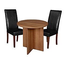 """30"""" Round Table- Warm  & 2 Din, 8821694"""