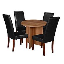 """30"""" Round Table- Warm  & 4 Din, 8821695"""