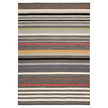 kathy ireland by Nourison Multicolor Stripe Area Rug 5.25'W x 7.5'D, 8803828