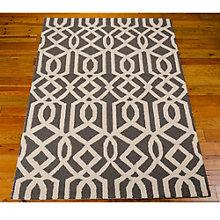 Linear Print Area Rug 5'W x 7'D, 8803850