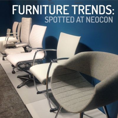 Furniture Trends Spotted at Neocon 2016