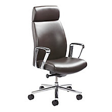 Executive Conference Chair in Leather and Faux Leather, 8814393