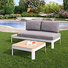 2pc Outdoor Lounger Set, 8820624