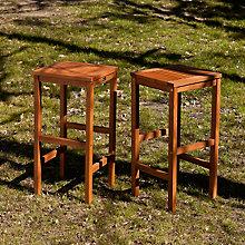 Outdoor Barstools 2pc Set, 8821953