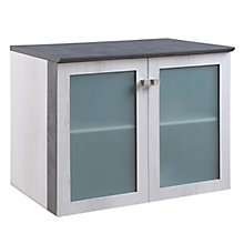 Allure Storage Cabinet with Glass Doors, 8828447