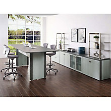 "Allure 10""W Standing-Height Conference Table Suite, 8828442"