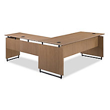 "Summit Executive Reversible L-Desk - 72""W x 78""D, 8828377"