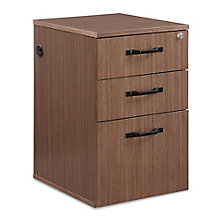"Diamond 15.5""W Three-Drawer File Pedestal, 8828297"