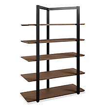 "Allure 68""H Five-Shelf Bookcase, 8828399"