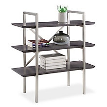 "Summit 38.5""H Three Shelf Bookcase, 8828333"