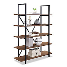 "Summit 68""H Five Shelf Bookcase, 8828334"