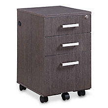 "Summit 15.5""W Three-Drawer Mobile Pedestal, 8828336"