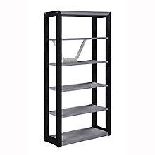 "District 5-Shelf Bookcase - 72""H, 8829026"