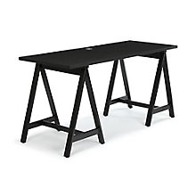 """Maker Sawhorse Leg Desk - 60""""W, 8828964"""