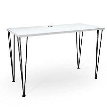 "Maker Hairpin Leg Desk - 48""W, 8828965"