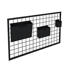 """Maker Metal Grid with Basket Set - 40""""W, 8829086"""