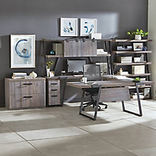 "Forge 72""W U-Desk Office Suite, 8828558"