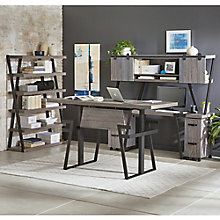 """Forge 72""""W Height-Adjustable Desk Office Suite, 8828559"""