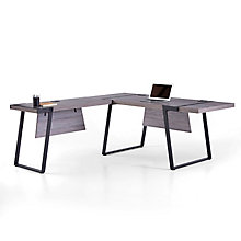 """Forge L-Desk with Left Return - 72""""W , 8828922"""