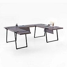 "Forge U-Desk with Reversible Bridge - 72""W, 8828557"