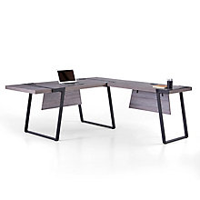 """Forge L-Desk with Right Return - 66""""W , 8828920"""
