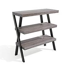 "Forge Three Shelf Bookcase - 36""W x 38""H, 8828543"