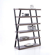 "Forge Five Shelf Bookcase - 48""W x 68""H, 8828544"