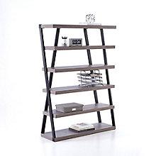 "Forge Five Shelf Bookcase - 48""W x 68""H, 8828544"
