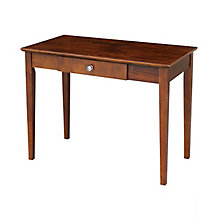 "Compact Writing Desk with Center Drawer - 36""W, 8812982"