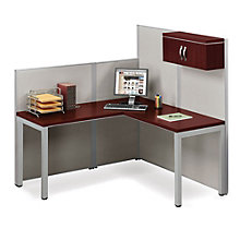 "Instant Office L-Desk Station - 62""W, 8804901"