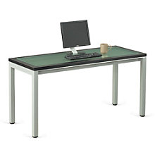 "Glass Top Desk 60""W, 8803885"